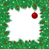 Het frame van Kerstmis Royalty-vrije Stock Foto