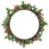 Het frame van Kerstmis. vector illustratie