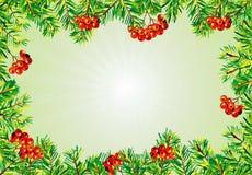 Het frame van Kerstmis stock foto