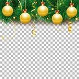 Het frame van Kerstmis en van het Nieuwjaar royalty-vrije stock fotografie