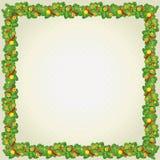 Het frame van Kerstmis en van het Nieuwjaar royalty-vrije stock afbeelding