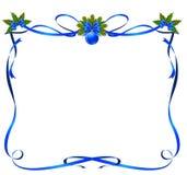 Het frame van Kerstmis van linten Royalty-vrije Stock Afbeelding