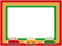 Het frame van kinderen Stock Afbeeldingen