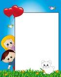 Het frame van kinderen Stock Fotografie