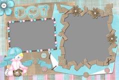 Het frame van kinderen voor de jongen. Royalty-vrije Stock Afbeeldingen