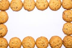 Het Frame van koekjes Stock Afbeelding