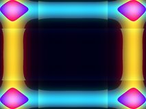 Het frame van mod. Stock Afbeelding