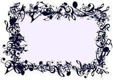 Het Frame van nota's Stock Foto