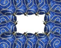 Het frame van ornamenten stock foto's