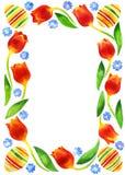 Het frame van Pasen Stock Afbeeldingen