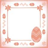 Het frame van Pasen Royalty-vrije Stock Fotografie