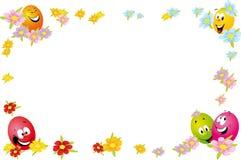 Het frame van Pasen Royalty-vrije Stock Afbeeldingen