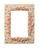 Het Frame van roos-en-parels Royalty-vrije Stock Foto