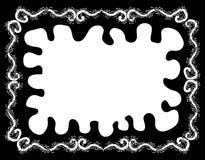 Het Frame van Squiggly Royalty-vrije Stock Afbeeldingen