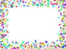 Het frame van sterren Stock Afbeeldingen
