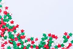 Het frame van sterren Stock Foto