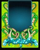 Het Frame van tentakels Royalty-vrije Stock Foto's