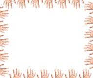 Het Frame van vingers Stock Afbeeldingen