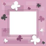 Het frame van vlinders Royalty-vrije Stock Foto's