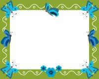 Het frame van vlinders Royalty-vrije Stock Foto