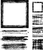 Het frame vastgestelde I van Grunge Stock Afbeelding