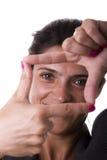 Het framming van vingers Royalty-vrije Stock Foto