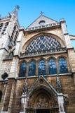 Het Frans dat gotisch voorbeeld vlamt royalty-vrije stock foto