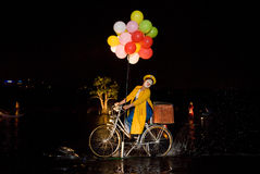 Het Franse Festival van de Lente. Royalty-vrije Stock Fotografie