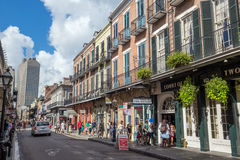 Het Franse Kwart in New Orleans royalty-vrije stock foto