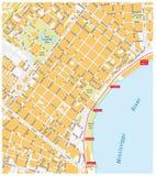 Het Franse Kwart van New Orleans vector illustratie