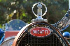 Het Franse voordetail van de jaren '30raceauto Stock Afbeelding