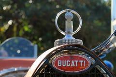 Het Franse voordetail van de jaren '30raceauto Royalty-vrije Stock Foto