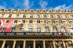 Het Frenche-Theater Comedie Francaise in Parijs royalty-vrije stock foto's