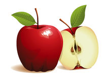 Het Fruit van de appel Royalty-vrije Stock Afbeeldingen
