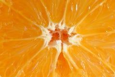 Het fruit van de close-up van sinaasappel Stock Fotografie