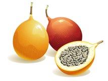 Het Fruit van de hartstocht Stock Foto