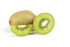 Het fruit van de kiwi dat op wit wordt geïsoleerd? Royalty-vrije Stock Foto's