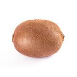Het fruit van de kiwi dat op witte achtergrond wordt geïsoleerdd Stock Foto's