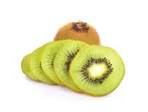Het fruit van de kiwi op witte achtergrond Royalty-vrije Stock Afbeelding
