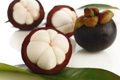 Het fruit van de mangostan Royalty-vrije Stock Foto's