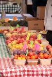 Het Fruit van de Markt van de landbouwer Stock Afbeelding