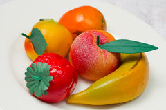 Het fruit van de marsepein   stock afbeelding