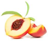 Het fruit van de nectarine Stock Foto