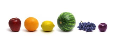 Het Fruit van de regenboog Stock Foto's