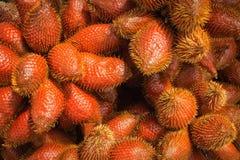 Het fruit van de Salakpalm in Thailand Stock Afbeelding