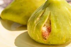Het fruit van de vijgeboom Royalty-vrije Stock Afbeeldingen