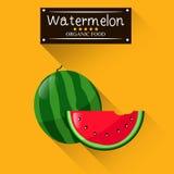 Het fruit van de watermeloenzomer Stock Afbeelding
