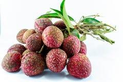 Het fruit van het litchi Stock Fotografie