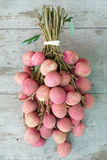 Het fruit van het litchi Stock Afbeelding