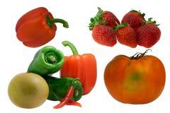 Het fruit van het paar stock afbeelding
